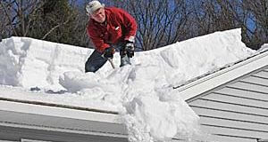 How to Keep Snow and Ice from Collapsing Your Roof